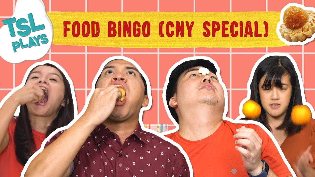 TSL Plays: Running Man Food Bingo (CNY Special)