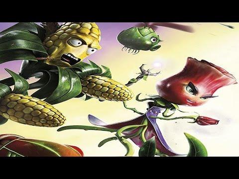 الوردة و الذرة ضد الزومبي الجليدي - لعبة Plants Vs Zombies Garden warfare 2