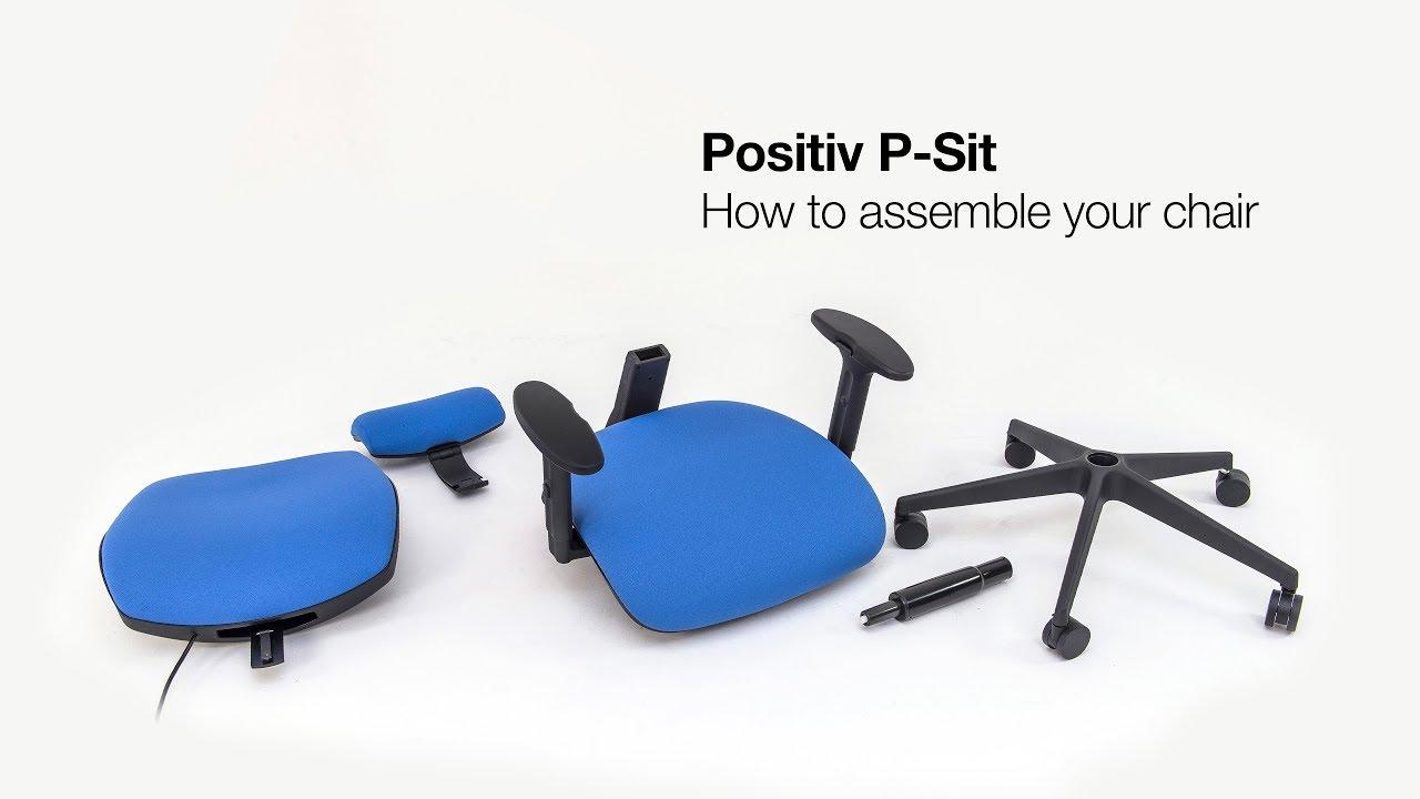 Positiv P Sit High Back Ergonomic Chair From Posturite