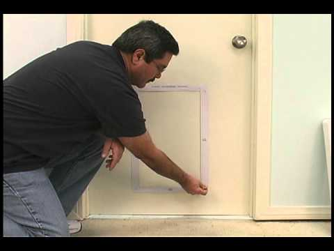 Installing the ruff weather pet door by ideal pet products youtube installing the ruff weather pet door by ideal pet products eventshaper