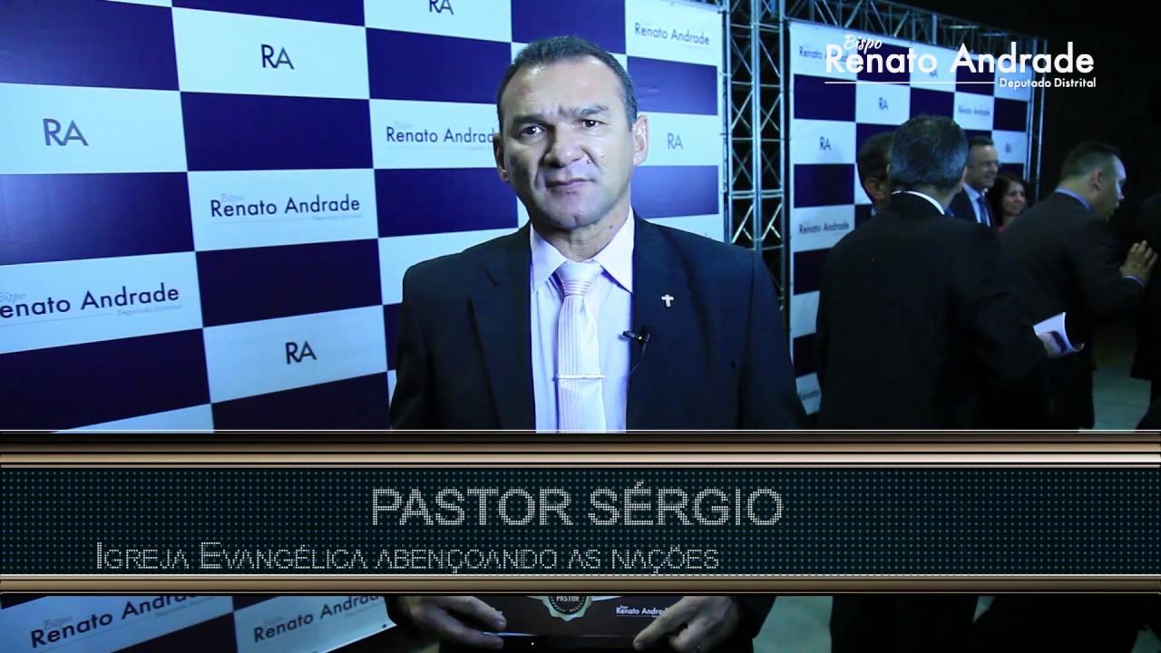8042c81d8f5 Homenageados agradecem ao Bispo Renato - Dia do Pastor (1). Bispo Renato  Andrade