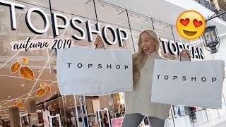 HUGE Topshop Shop With Me & Try On Haul | Autumn 2019 AD
