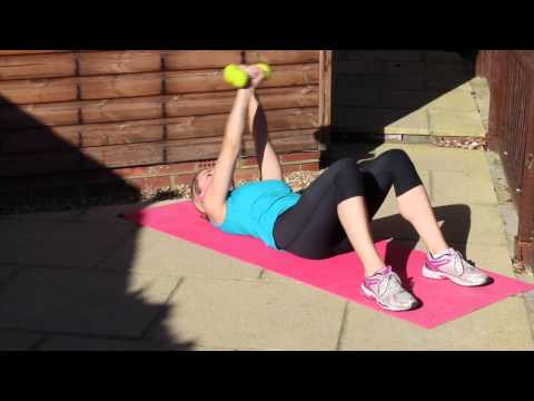 Day 28 Arm Workout (Lying on the Floor)