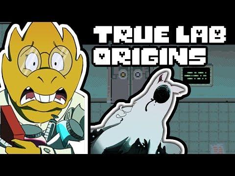 True Lab Origins Part 1 (Dogs of Future Past) (Undertale Comic Dub)