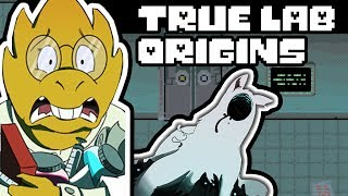 True Lab Origins Part 1 (Dogs of Future Past) (Undertale Comic Dub)