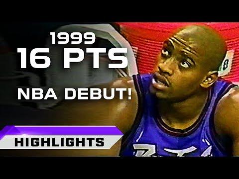 Vince Carter NBA Debut vs Boston Celtics - LEGEND IS BORN! (02.05.1999)