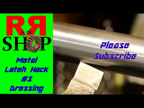 Dress Up First!  Before the Tool Goes Out   Metal Lathe Hack #3