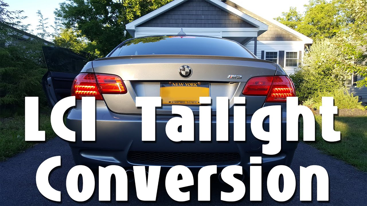 2008 e92 bmw lci taillight conversion without coding