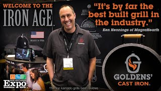 Top Kamado Grill - Ken Hennings Best Review - Goldens' Cast Iron