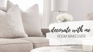 ROOM MAKEOVER! DECORATE WITH ME! CHRISTYMEL