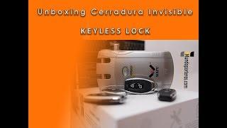 ✅UnBoxing | Cerradura Invisible electrónica KEYLESS LOCK