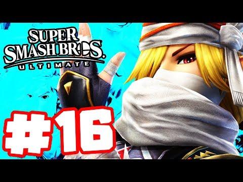 Super Smash Bros Ultimate - Walkthrough Part 16 - Shiek Attack!
