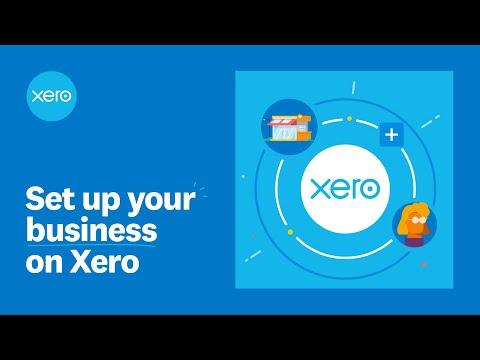 Set up a Xero organisation