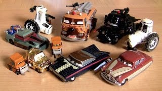 Repeat youtube video CARS STAR WARS 2014 Chewbacca Han-Solo Obi-Wan Kenobi, Darth Vader Disney Theme Park toys