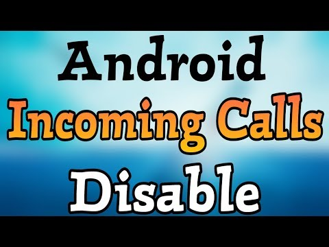How To Block Incoming Calls In Android