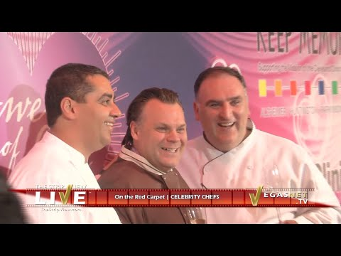 Celebrity Chefs Interview | Francois Payard, Jose Andres, Michael Mina | Power of Love Gala 2011