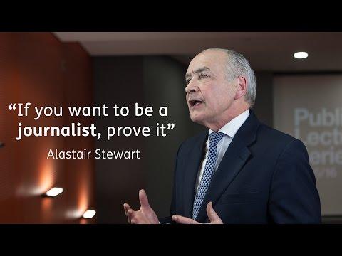 Alastair Stewart on studying Journalism - University of Sunderland