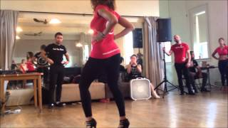Видео: Ataca & La Alemana, & Zafire Bachata & Salsa Styling Workshop