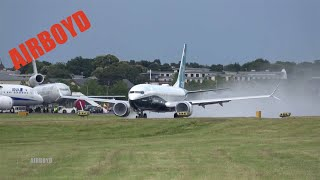Boeing 737 MAX Airshow Demonstration - Farnborough