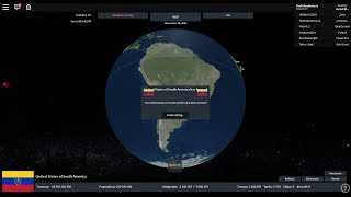 Rise of Nations Roblox Forming the United States of South America