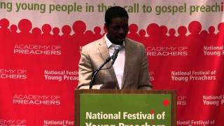 Stephen Green, 2014 National Festival of Young Preachers
