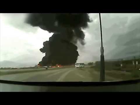 Crash D'Un Boeing 747 Sur La Base Américaine Bagram En Afghanistan