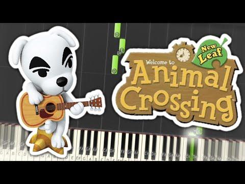 Animal Crossing: New Leaf - KK Jongara Theme Piano Tutorial Synthesia
