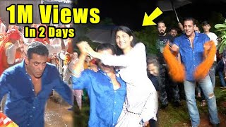 Full video | Salman Khan and Katrina Zabardast Desi Dance on Ganpati Visarjan