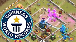 WORLD RECORDED FIRST TOWN HALL 12 THREE STAR WAR ATTACK | 3 Star Any Th12 With Electro Dragons