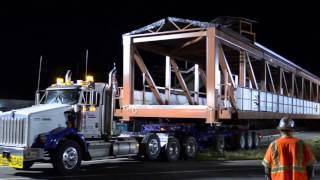 Table Mesa Pedestrian Bridge Installation