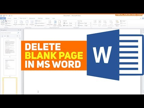 How to Delete an Unwanted Blank Page in Word