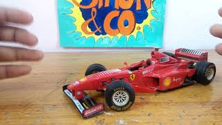 Burago 1/24 scale Michael Schumacher