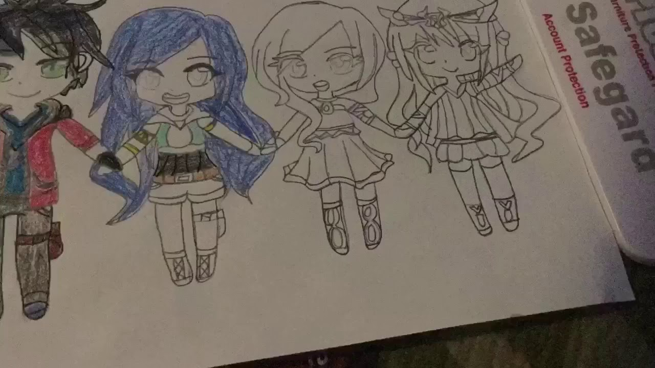 How To Draw Itsfunneh And The Krew Easy