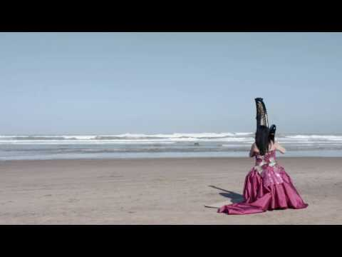 "HARP MUSIC ""NORTH COAST"" Downhill Demesne Drone with Harpist Les Magee"