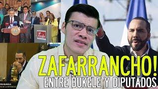 ¡ZAFARRANCHO ENTRE BUKELE Y DIPUTADOS! - SOY JOSE YOUTUBER