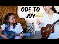 Ode To Joy Ukulele Duet Teacher Student mp3