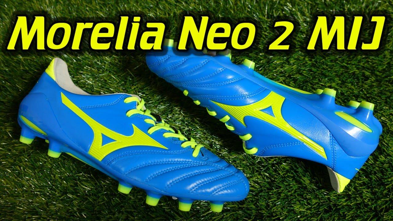 timeless design d9346 ef003 MIJ Mizuno Morelia Neo 2 (Diva Blue/Safety Yellow) - Review + On Feet