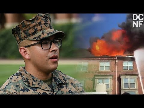 Chris Matthews - Marines save Senior Citizens trapped in Burning Building