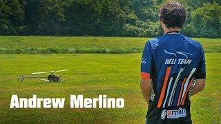 Andrew Merlino flying Trex 700X at HOD 2018