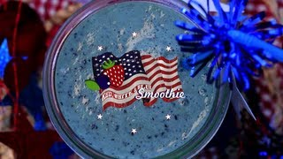 Red White And Blue Smoothie | Thirsty For ...