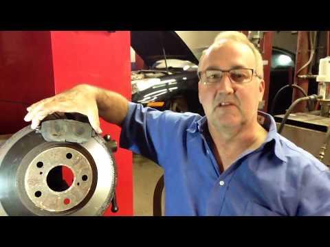 Brake Rotor Rust