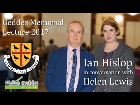Ian Hislop in conversation with Helen Lewis