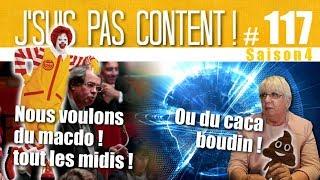 J'SUIS PAS CONTENT ! #117 : Députés au MacDo, Cthulhu fhtagn & Caca Boudin ! [Feat. JRLombard]