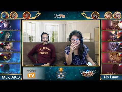 ML o AKO vs No Limit Game 1,2 (BO2) Just ML League 3