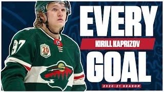 Every Kirill Kaprizov Goal From The 2020-21 NHL Season