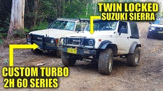 THE ZOOK, 60, PRADO & HILUX GO WHEELING IN WATAGINS FOREST! 1/2