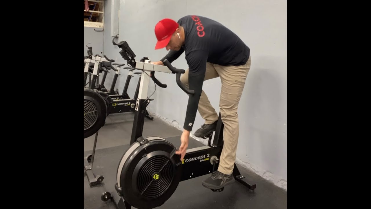 This will tell you how to set the Rower, SkiErg, and Bike