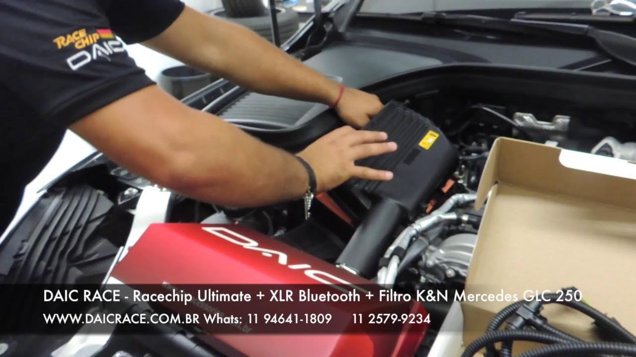DAIC RACE - Mercedes Benz GLC 250 recebendo Racechip Ultimate e Anti Delay  XLR (11) 94641-1809