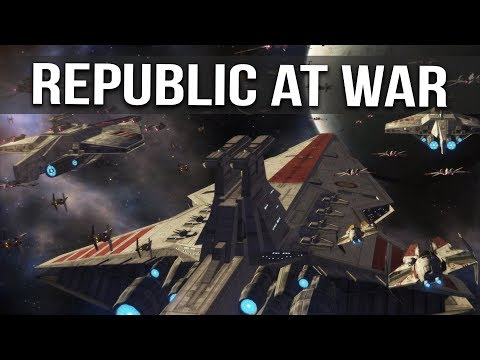 STAR WARS REPUBLIC AT WAR! Ep 31 - BATTLE FOR THE REPUBLIC