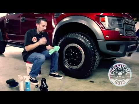 How To Clean and Dress Off Road Tires - Ford SVT Raptor